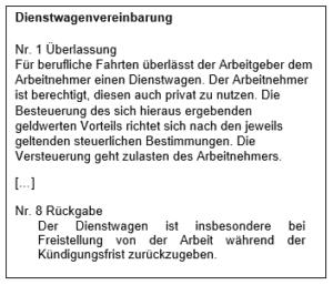 Arbeitnehmer Gekündigt Streit Um Rückgabe Des Dienstwagens Ra Croset
