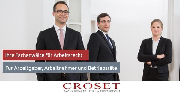 Ihre Fachanwälte Für Arbeitsrecht In Berlin Pascal Croset