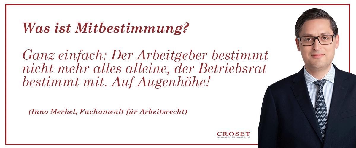 Arbeitsrecht für Betriebsräte - Kanzlei Croset