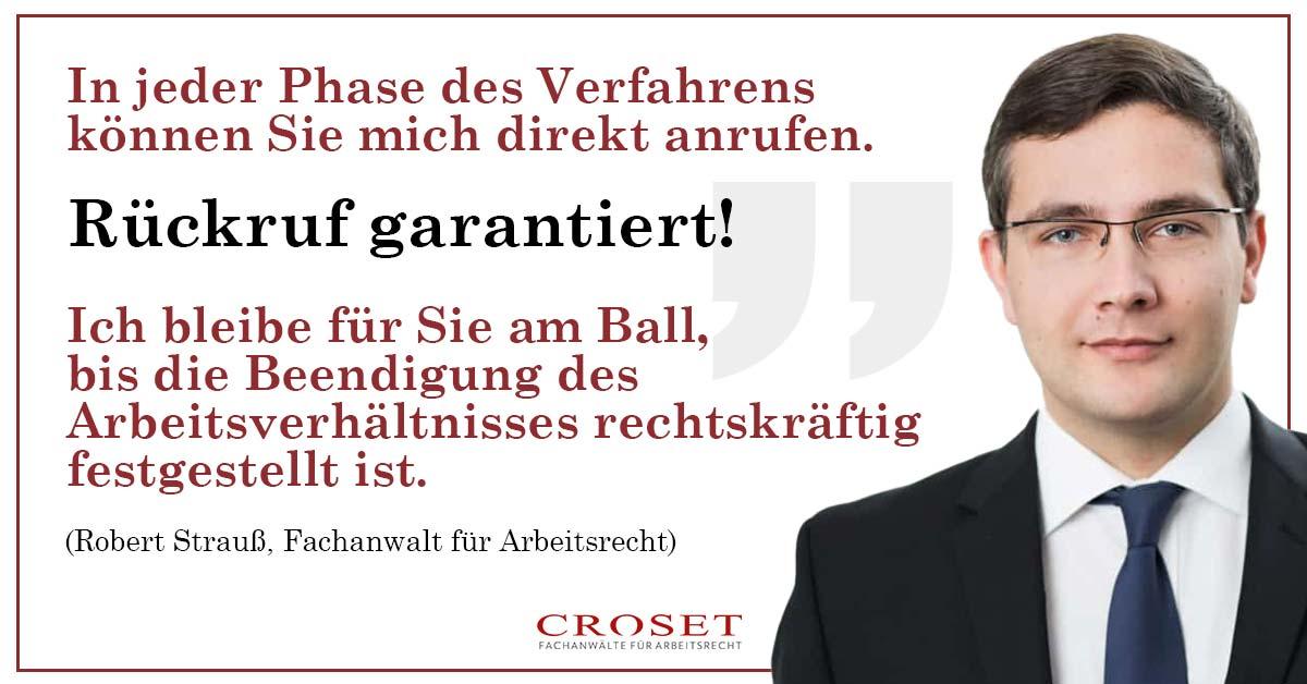 Arbeitgeber Arbeitsrecht | Kanzlei Croset