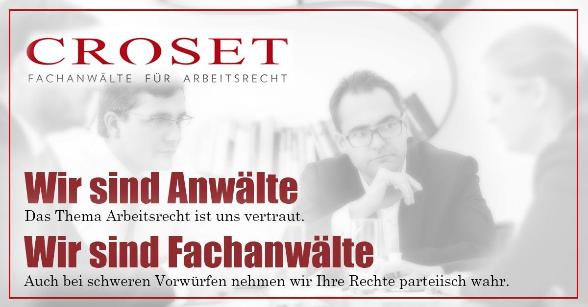 Croset - Fachanwälte für Arbeitsrecht in Berlin
